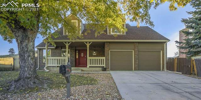 77 Saddlemountain Road, Colorado Springs, CO 80919 (#2927077) :: Compass Colorado Realty