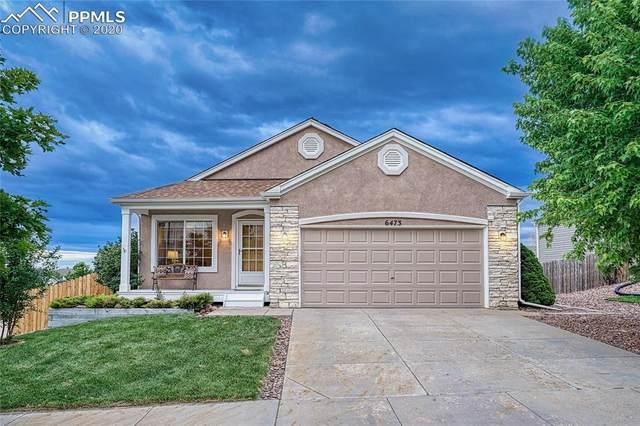 6473 Sonny Blue Drive, Colorado Springs, CO 80923 (#2965288) :: Fisk Team, RE/MAX Properties, Inc.