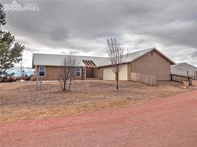 13550 Berridge Road, Calhan, CO 80808 (#2966034) :: Group 46:10 Colorado Springs
