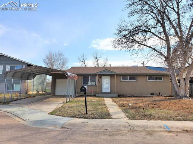 541 Norman Drive, Colorado Springs, CO 80911 (#2974048) :: The Harling Team @ Homesmart Realty Group