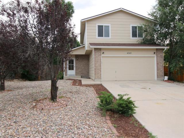 4545 Witches Hollow Lane, Colorado Springs, CO 80911 (#2978968) :: The Treasure Davis Team