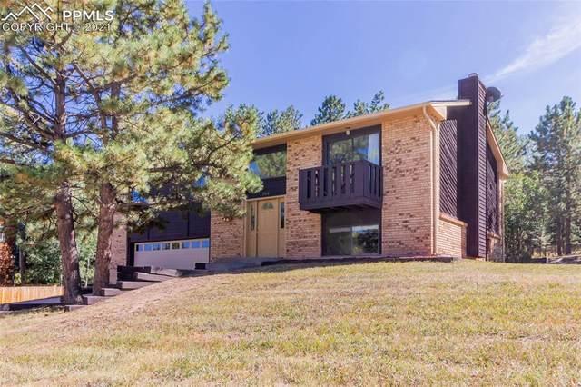 364 Lakewood Drive, Woodland Park, CO 80863 (#2983879) :: The Treasure Davis Team   eXp Realty