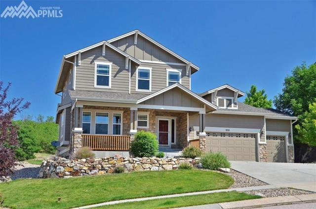 850 Coyote Willow Drive, Colorado Springs, CO 80921 (#3000542) :: Action Team Realty