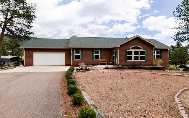 1075 S Woodland Avenue, Woodland Park, CO 80863 (#3018327) :: The Treasure Davis Team