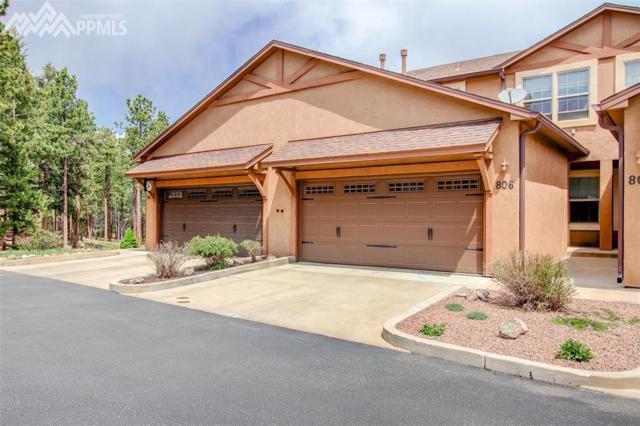 806 Misty Pines Circle, Woodland Park, CO 80863 (#3049459) :: 8z Real Estate