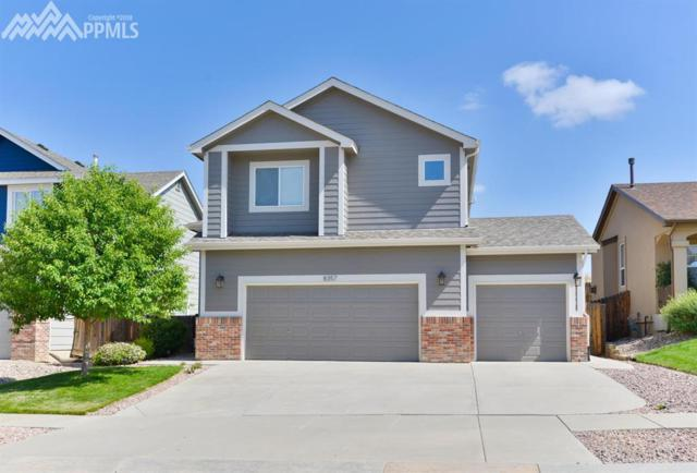 8357 Kettle Drum Street, Colorado Springs, CO 80922 (#3069872) :: The Treasure Davis Team