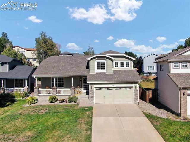 3265 Flying Horse Road, Colorado Springs, CO 80922 (#3074008) :: The Kibler Group