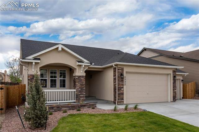 2522 Pony Club Lane, Colorado Springs, CO 80922 (#3085840) :: The Treasure Davis Team