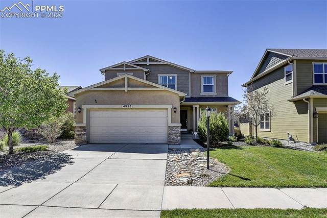 4955 Rabbit Mountain Court, Colorado Springs, CO 80924 (#3131332) :: The Treasure Davis Team