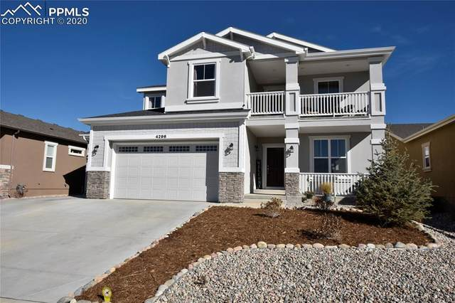 4296 New Santa Fe Trail, Colorado Springs, CO 80924 (#3153409) :: Action Team Realty