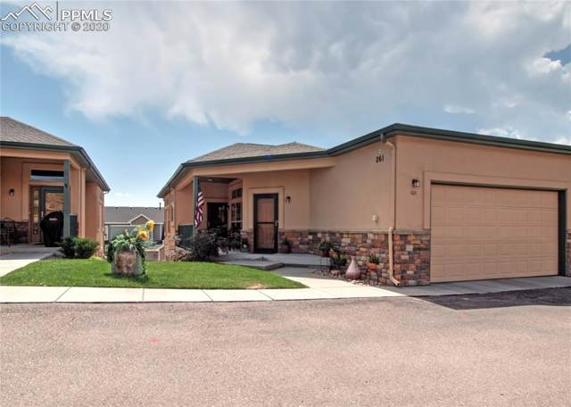 261 Eagle Summit Point #101, Colorado Springs, CO 80919 (#3181116) :: Tommy Daly Home Team