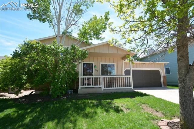 3725 Summer Breeze Drive, Colorado Springs, CO 80918 (#3189737) :: The Treasure Davis Team