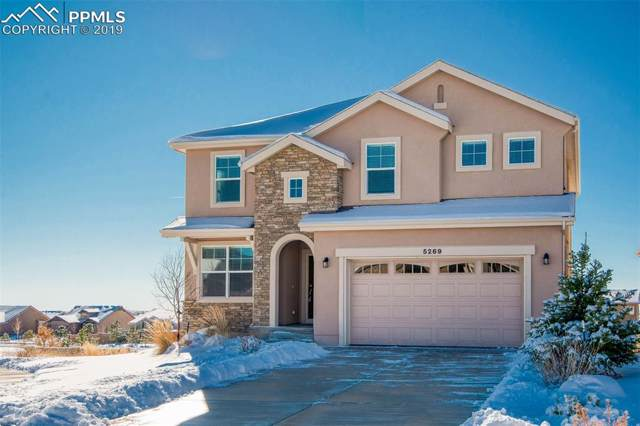 5269 Castlewood Canyon Court, Colorado Springs, CO 80924 (#3190613) :: The Hunstiger Team