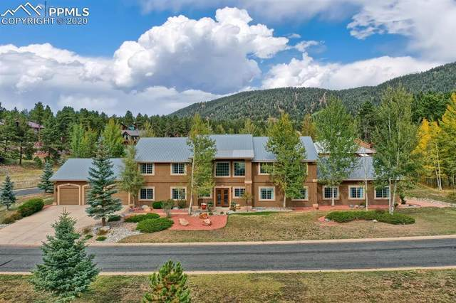 920 Heather Court, Woodland Park, CO 80863 (#3204068) :: HomeSmart