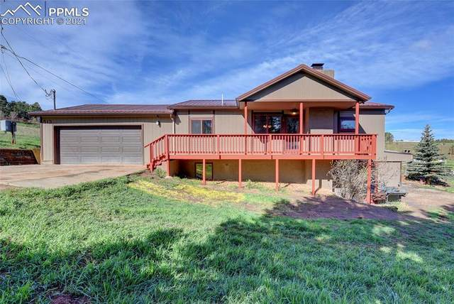 513 South Forty Road, Woodland Park, CO 80863 (#3211727) :: Fisk Team, eXp Realty