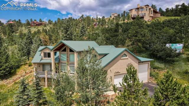 740 Sunrise Circle, Woodland Park, CO 80863 (#3229204) :: The Gold Medal Team with RE/MAX Properties, Inc