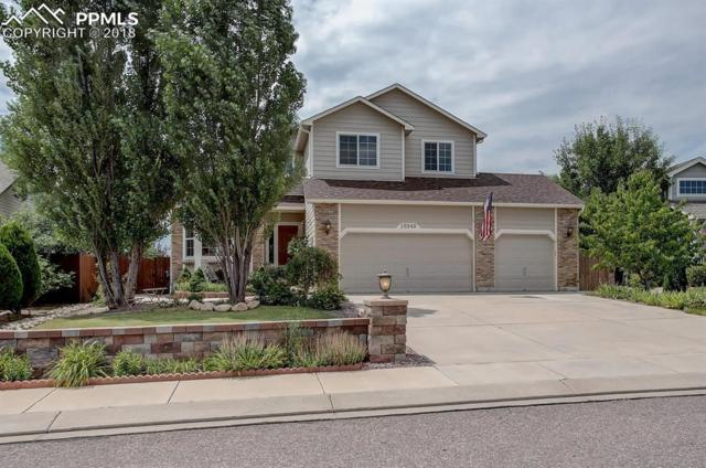 16948 Park Trail Drive, Monument, CO 80132 (#3232983) :: The Hunstiger Team