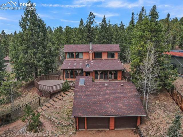 2629 Sunnywood Avenue, Woodland Park, CO 80863 (#3309382) :: Finch & Gable Real Estate Co.