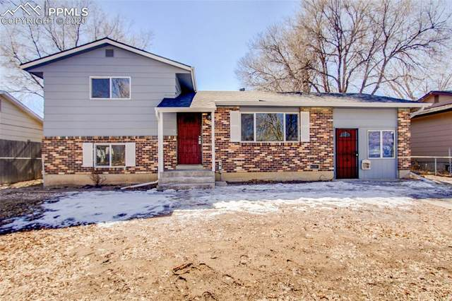 2315 Sonoma Drive, Colorado Springs, CO 80910 (#3313539) :: The Kibler Group