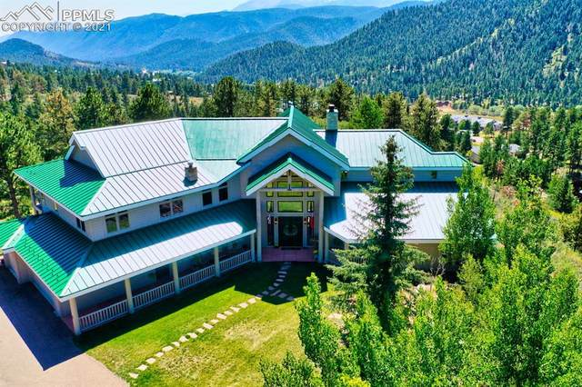 215 Morning Sun Drive, Woodland Park, CO 80863 (#3326145) :: Simental Homes   The Cutting Edge, Realtors