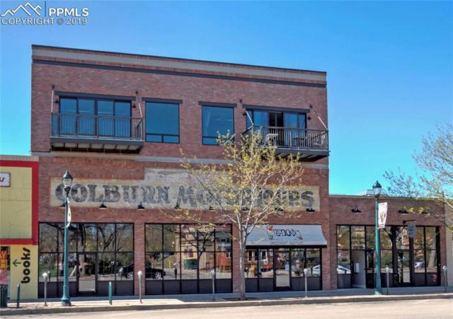 117 E Bijou Street #207, Colorado Springs, CO 80903 (#3333012) :: CC Signature Group