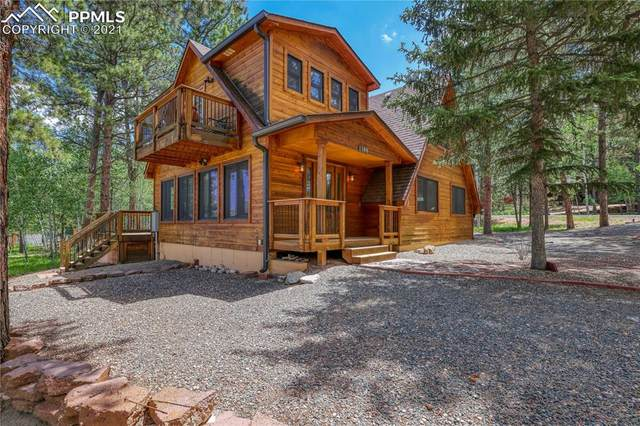 1300 Northwoods Drive, Woodland Park, CO 80863 (#3333202) :: The Dixon Group