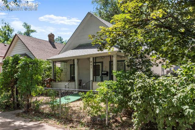 841 E Monument Street, Colorado Springs, CO 80903 (#3344838) :: The Peak Properties Group