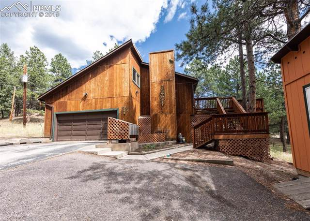 200 E Lovell Gulch Road, Woodland Park, CO 80863 (#3350372) :: The Kibler Group
