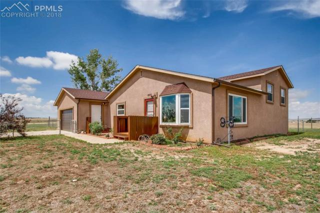 5925 N Log Road, Calhan, CO 80808 (#3359673) :: The Dunfee Group - Keller Williams Partners Realty