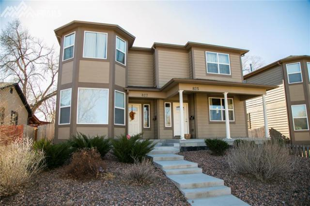 825 E Rio Grande Street, Colorado Springs, CO 80903 (#3372484) :: RE/MAX Advantage