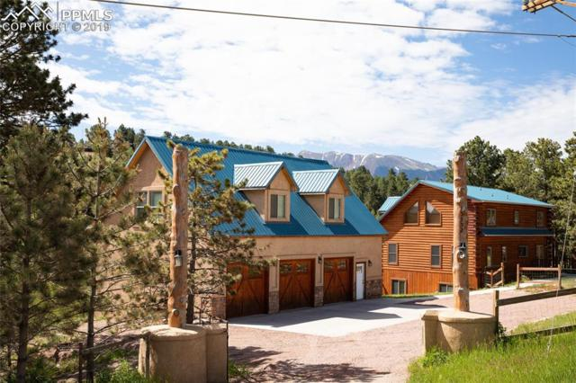 15352 Highway 24 Highway, Woodland Park, CO 80863 (#3382795) :: The Treasure Davis Team