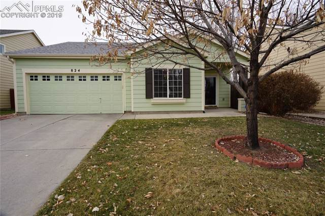 824 Prairie Star Circle, Colorado Springs, CO 80916 (#3383185) :: The Treasure Davis Team