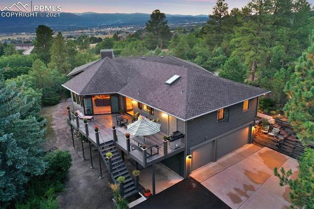 580 Silhouette Way, Monument, CO 80132 (#3388119) :: The Kibler Group