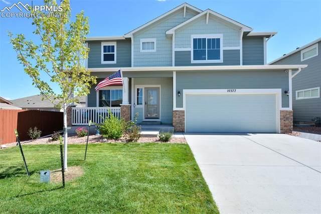 10377 Boulder Ridge Drive, Peyton, CO 80831 (#3399223) :: Action Team Realty