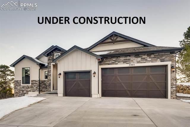 9813 Fairway Glen Drive, Peyton, CO 80931 (#3410266) :: The Kibler Group