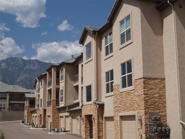 605 Cougar Bluff Point #110, Colorado Springs, CO 80906 (#3425515) :: The Hunstiger Team