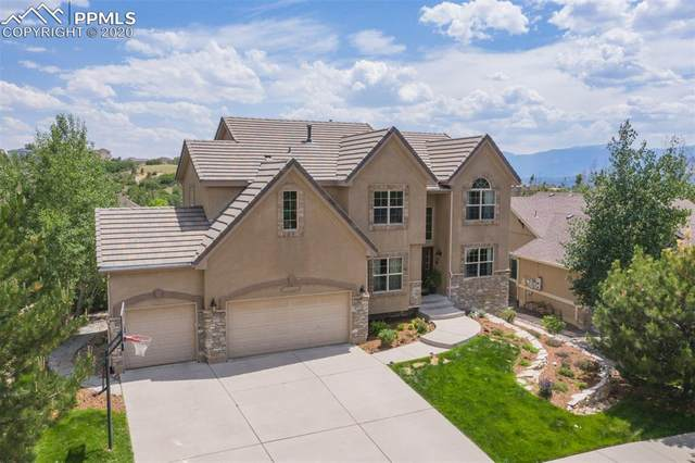 1735 Bridle Oaks Lane, Colorado Springs, CO 80921 (#3443630) :: Tommy Daly Home Team