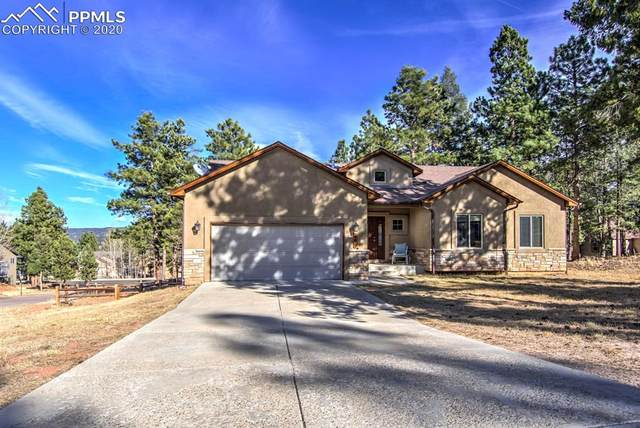 600 Misty Pines Circle, Woodland Park, CO 80863 (#3445364) :: Finch & Gable Real Estate Co.