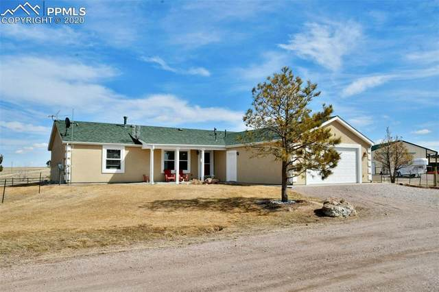 18500 County Road 114 Road, Calhan, CO 80808 (#3446316) :: Finch & Gable Real Estate Co.