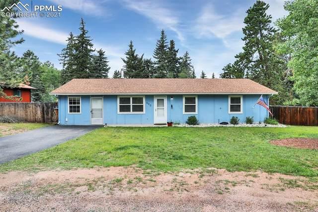990 N Park Drive, Woodland Park, CO 80863 (#3452089) :: The Dixon Group