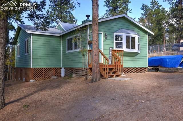 25 Honeysuckle Road, Woodland Park, CO 80863 (#3456768) :: The Treasure Davis Team | eXp Realty