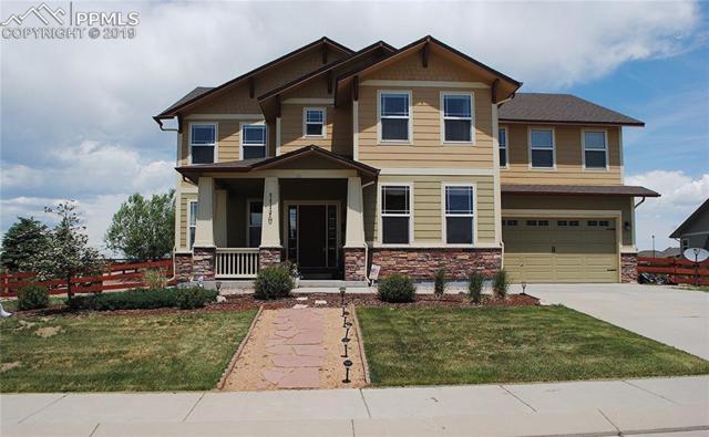 11170 Spotswood Terrace, Peyton, CO 80831 (#3495730) :: The Hunstiger Team