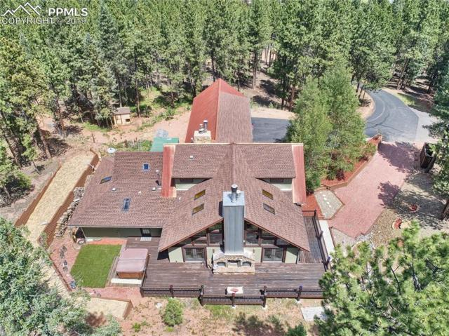 1307 Windflower Lane, Woodland Park, CO 80863 (#3499260) :: The Peak Properties Group