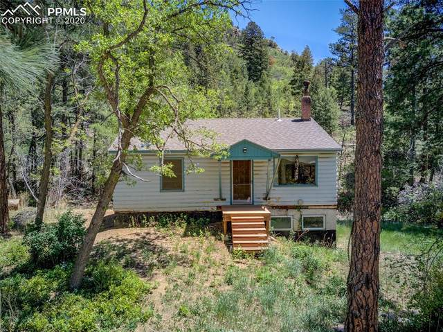 1070 Rock Creek Canyon Road, Colorado Springs, CO 80926 (#3506783) :: Tommy Daly Home Team