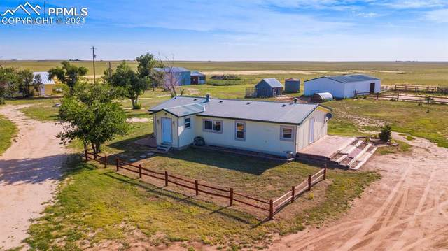 4465 S Johnson Road, Rush, CO 80833 (#3510501) :: Action Team Realty
