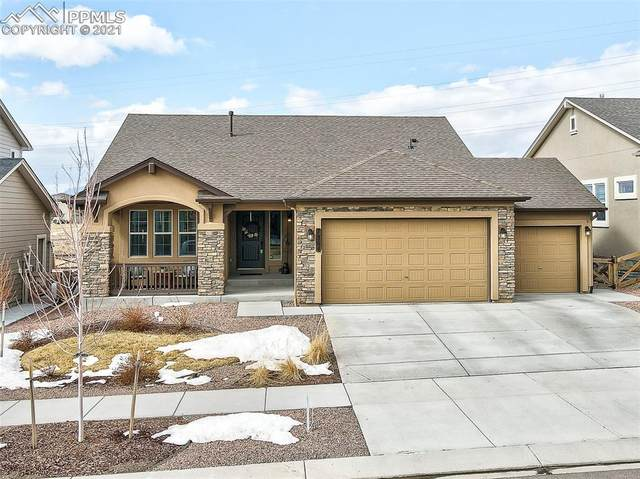 7364 Rim Bluff Lane, Colorado Springs, CO 80927 (#3520060) :: Tommy Daly Home Team