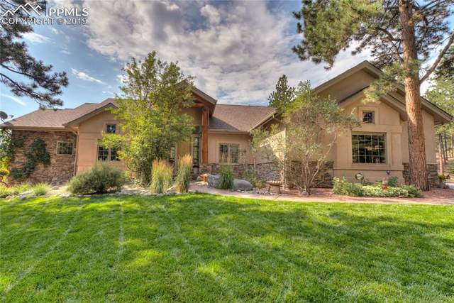 110 Morning Star Circle, Woodland Park, CO 80863 (#3530640) :: The Daniels Team