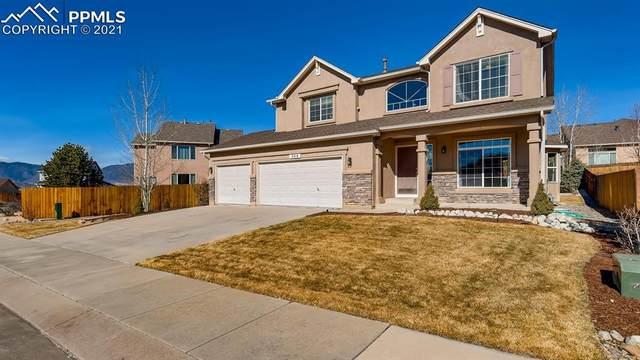 368 Homeland Court, Colorado Springs, CO 80921 (#3532170) :: The Scott Futa Home Team