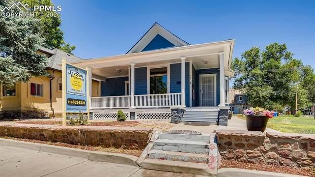 2104 W Colorado Avenue, Colorado Springs, CO 80904 (#3532895) :: Finch & Gable Real Estate Co.