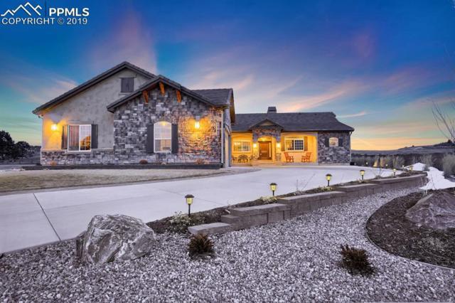 1707 Redbank Drive, Colorado Springs, CO 80921 (#3540149) :: The Treasure Davis Team